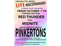 Live Music Extravaganza in aid of Air Ambulance - Friday 7th October - 2 bands inc the Pinkertons