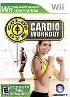 WII CARDIO WORKOUT GOLD'S GYM