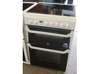 INDESIT 60cm ELECTRIC COOKER ,NEW MODEL,IMMACULATE CONDITION, 4 MONTHS WARRANTY