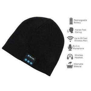fca802c0c59 NEW ROTUS BT WINTER BEANIE 227072852 KNIT BLACK BLUETOOTH W  BUILT IN MIC  HEADPHONE HAT