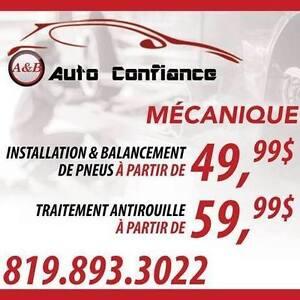 Tire Install & Balance starting at 10$ rust proof 59.99$ Gatineau Ottawa / Gatineau Area image 1