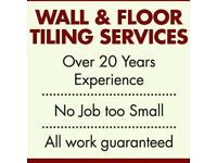 Tiler Available over 20yrs Experience