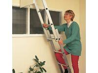 Titan 2 section loft ladder brand new TLLEF