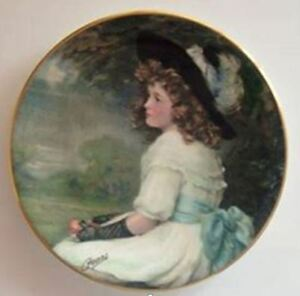 Fine Bone China Collector Plate - A Daughter of Eve;