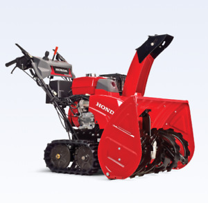 "Honda snowblower, 32"" track drive, like new w/ factory warranty"