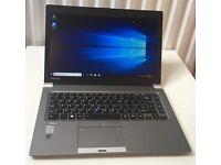 Toshiba Tecra Z40 UltraBook laptop SSD Intel Core 5th generation processor fully working