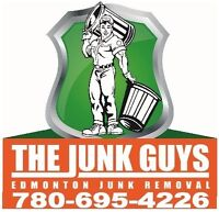 Edmonton Junk Removal Service 780-695-4226  The Junk Guys