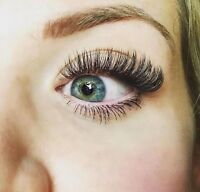 EYELASHES EXTENSION, volume lashe