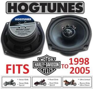 NEW HOGTUNES 5.25 FRONT SPEAKER KIT 356F 256836424 GEN 3 REPLACEMENT SPEAKERS HARLEY DAVIDSON MOTORCYCLES