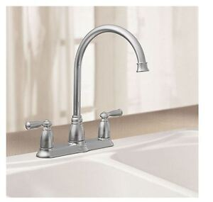 2 Good Working Kitchen Faucets Moen & EuroStream SEE VIDEO
