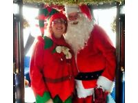 Santa Boat Trip on the Union Canal