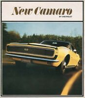 1967 CAMARO SALES BROCHURE