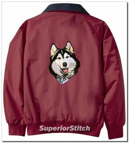 SIBERIAN HUSKY Challenger jacket ANY COLOR B