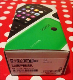 *** Nokia 215 Black Mobile Phone Brand New + Boxed ***