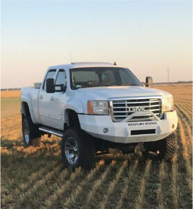 2008 GMC Duramax 2500HD SLT loaded/lifted
