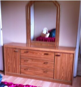 Dresser with mirror for sale