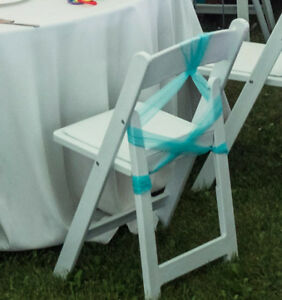 200 Organza Chair Sash or Sashes - Clean