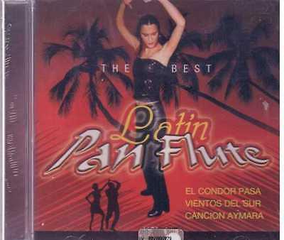 LATIN PAN FLUTE THE BEST ROSSA CD  SEALED