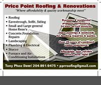 Price Point Renovations Specialist!!