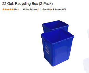 Recycle Blue Box (Big size )  $14