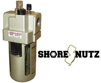 Compressed Air 14 Npt Lubricator Air Flow 800 Lmin Pneumatic Oiler