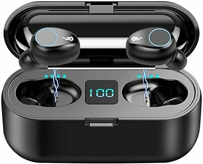 Bluetooth earbuds wireless 5.0 iPhone Android sport Headphones Stereo power bank