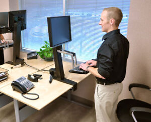 Quality Sit/Stand Desk—stand while you work!