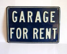 GARAGES TO RENT Hastings and Bexhill