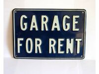 GARAGE TO RENT Silver Hill Area