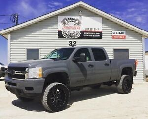 2008 Chevrolet Silverado 2500 Duramax! Lifted! Fully Loaded!