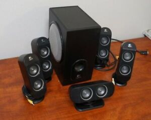Logitech X-530 5.1 Computer home theater speakers