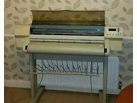 Printer HP DesignJet 750C A0 plotter