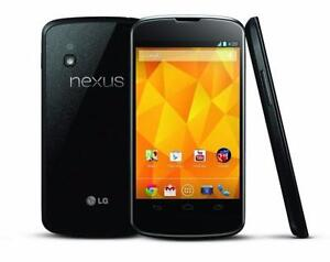 lg nexus 4 factory unlocked with charger $150