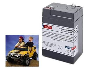 Little Tikes H3 Hummer Hummer H3 Ride-on Toy Battery