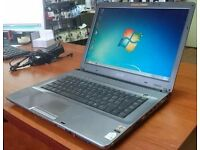 Sony Vaio laptop with webcam built-in