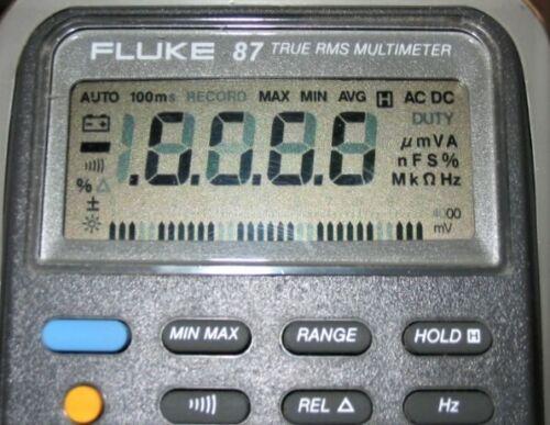 Fluke Repair for Kit 87  87 lll  J-39200 Kent - Moore for Fading Digital Display
