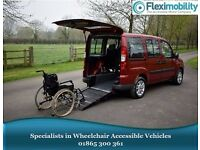 2009 FIAT DOBLO DYNAMIC RED Wheelchair-Accessible Vehicle WAV Disabled Car