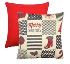 Polyester Patchwork Decorative Cushions