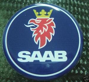 Saab Hood Trunk Emblem replacement badge sticker decal 2.5