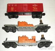 O Scale Train Cars