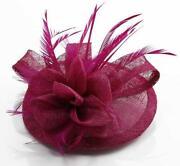 Fuschia Wedding Hat