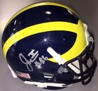 Michigan Wolverines Not Authenticated Original Autographed NCAA Football Helmets