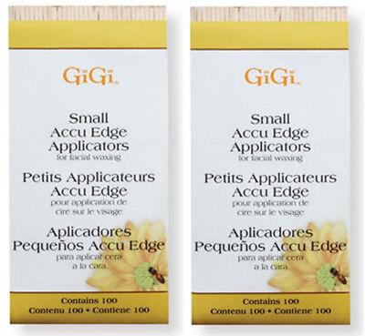 GiGi Small Accu Edge Applicators 2 - Packs 100pk #0430 ***