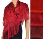 Shawls/Wraps Red Sparkly Scarves & Wraps for Women