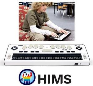 NEW HIMS BRAILLE EDGE 40 DISPLAY BRAILES EDGE 40 185347607 BLIND COMPUTER PC DESKTOP BLUETOOTH KYBOARD