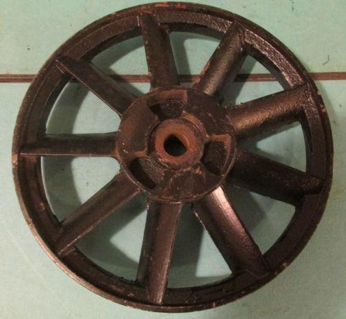 Antique Cast Iron Flywheels : Antique flywheel ebay