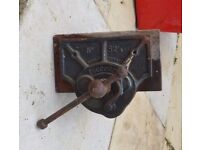 *RECORD* ~ VINTAGE ~ RECORD VICES ~ BIT BRACE DRILLS ~ SET SQUARE ~ STANLEY MILLS HAND DRILLS & MORE