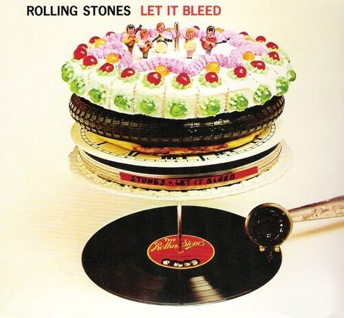 ROLLING STONES LET IT BLEED VINYL ALBUM - DSD REMASTERED