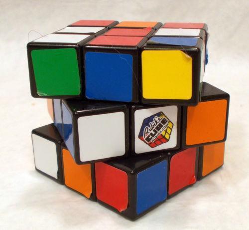 original rubiks cube vintage ebay. Black Bedroom Furniture Sets. Home Design Ideas