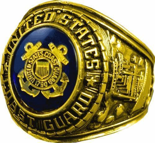 Coast Guard Ring Ebay